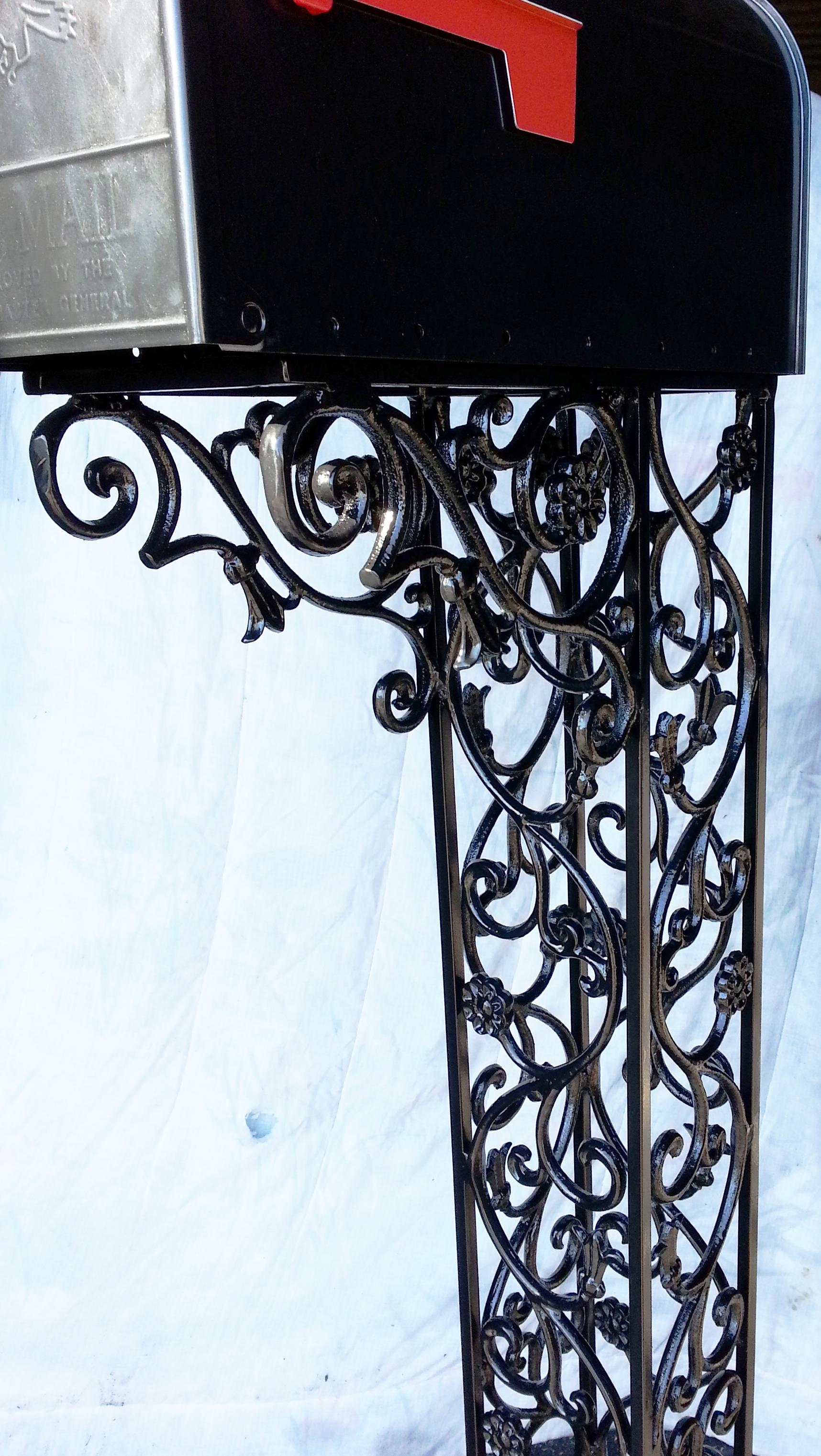 Decorative Metal Porch Posts Drews Iron Fencing Services